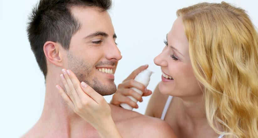 A maioria das substancias podem ser usadas tanto por homens quanto pelas mulheres, mas a concentração delas e o número de vezes por semana depende de cada tipo de pele.