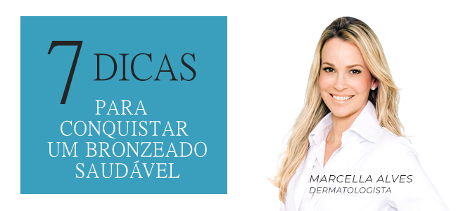 No ultimo sábado, 26/01 a dermatologista e sócia da clinica Les Peaux, Marcella Alves, deu uma contribuição importantíssima para os amantes do verão para Revista Ela, do O Globo. Imagem acervo próprio.