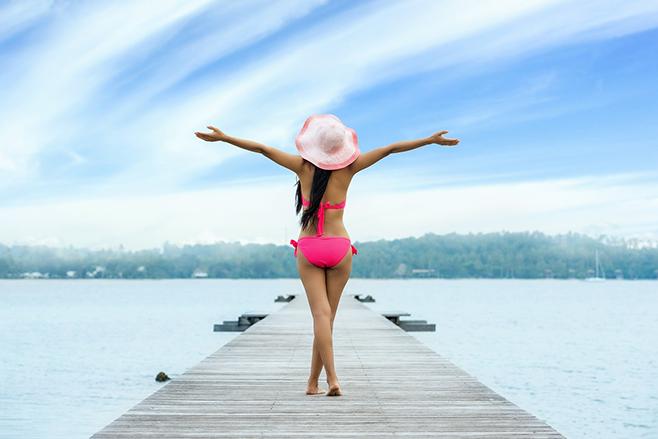 Tratamentos estéticos podem dar um reforço na luta contra a gordura localizada — Foto: Pexels