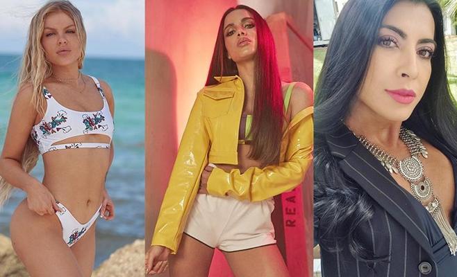 Luísa Sonza, Anitta e Priscila Pires são algumas famosas que aderiram ao preenchimento labial Imagem: Reprodução/Instagram